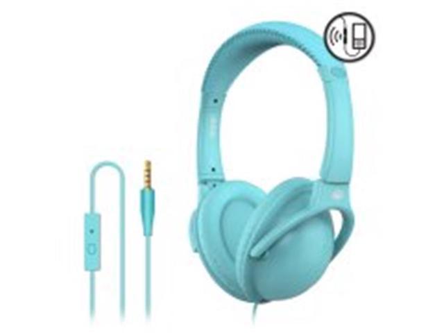 ad95807373a MQbix MQHT470BL 2 -in-1 Combo Ear Earphones with Mic & Deep Bass Stereo  Headphones - Blue