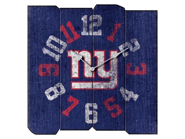 online retailer de870 74b37 Imperial Fan Shop 720801711133 New York Giants NFL Vintage Square Clock -  Newegg.com