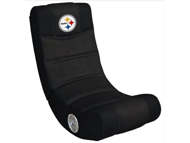 promo code 21e86 6845f Imperial Fan Shop 720801141046 Pittsburgh Steelers NFL Video Chair with  Bluetooth - Newegg.com