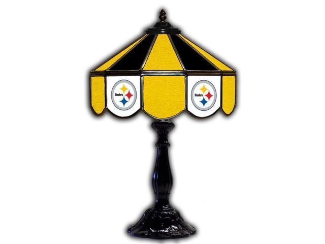 pretty nice 955cd 51b94 Imperial Fan Shop 720801591049 21 in. Pittsburgh Steelers NFL Glass Table  Lamp - Newegg.com