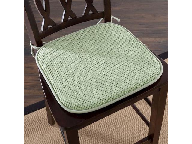 Incredible Lavish Home 69 05 G Memory Foam Chair Cushion For Dining Room Kitchen Outdoor Patio Desk Chairs Green Andrewgaddart Wooden Chair Designs For Living Room Andrewgaddartcom
