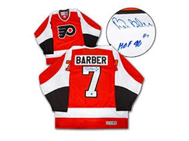 finest selection c2527 37b6e Autograph Authentic BARB11100B Philadelphia Flyers Bill Barber Autographed  Fanatics Vintage Hockey Jersey - Newegg.com