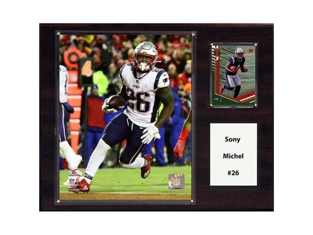 best cheap ed101 6b56d C&I Collectables 1215MICHEL NFL 12 x 15 in. Sony Michel New England  Patriots Player Plaque - Newegg.com