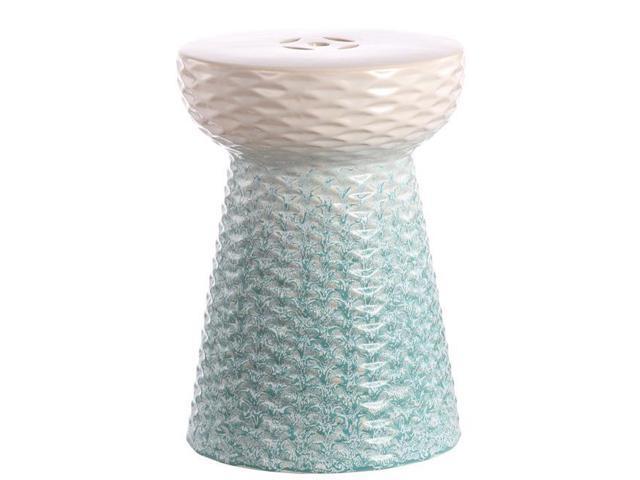 Peachy Safavieh Acs4577A Kenson Garden Stool Multicolor Newegg Com Ncnpc Chair Design For Home Ncnpcorg