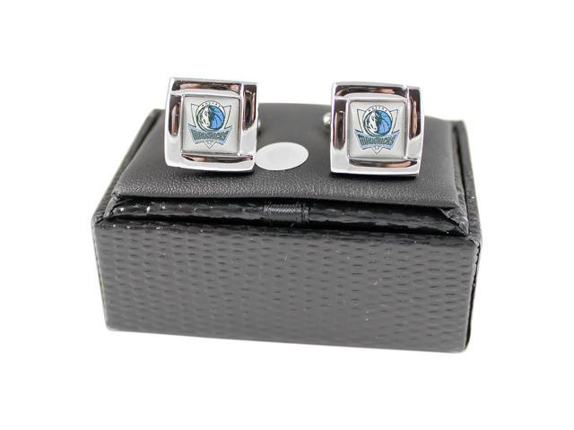 Ncaa LSU Tigers Square Cufflinks with Square Shape Engraved Logo Design Gift Box Set