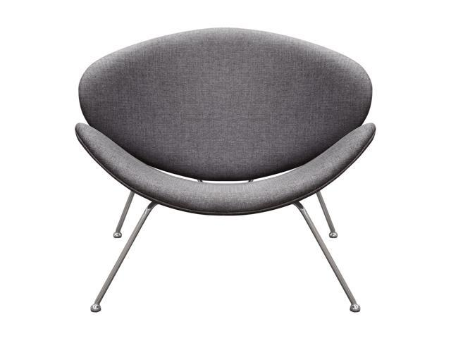 Amazing Diamond Sofa Set Of 2 Roxy Accent Chair With Chrome Frame Modern Minimalist Style Grey Fabric Cjindustries Chair Design For Home Cjindustriesco