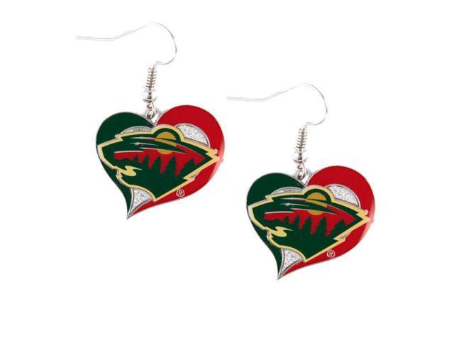 NHL Minnesota Wild Logo Post Earrings