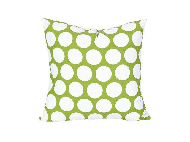 Astonishing Majestic Home Goods Large Polka Dot Large Pillow Hot Green Newegg Com Machost Co Dining Chair Design Ideas Machostcouk