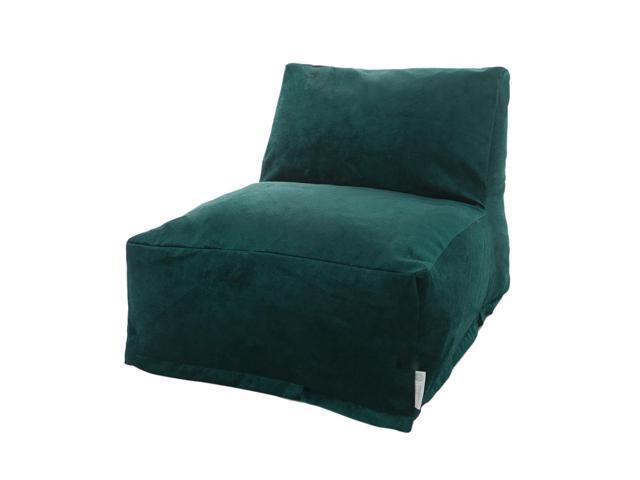 Peachy Majestic Home Goods Villa Bean Bag Chair Lounger Marine Newegg Com Inzonedesignstudio Interior Chair Design Inzonedesignstudiocom
