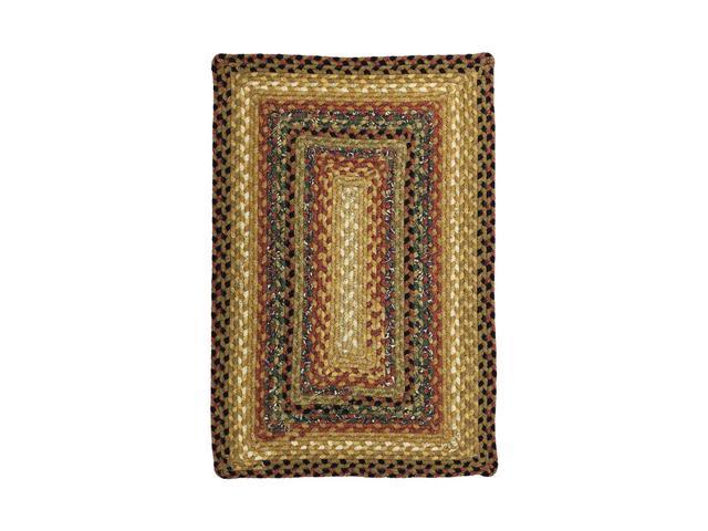 Homespice Decor 454195 Peppercorn Cotton Braided Rugs