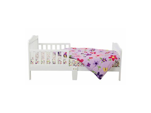 Dream On Me Classic Design Toddler Bed White 624 W Neweggcom