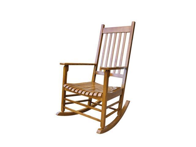 Incredible Shine Company 4332Oa Vermont Porch Rocker Oak Newegg Com Pabps2019 Chair Design Images Pabps2019Com