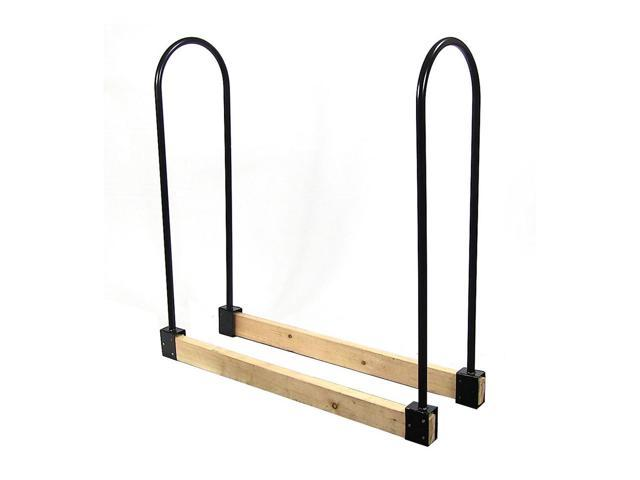 Sunnydaze Steel Adjule Firewood Log Rack Bracket Kit Adjusts Up To 16 Feet Wide