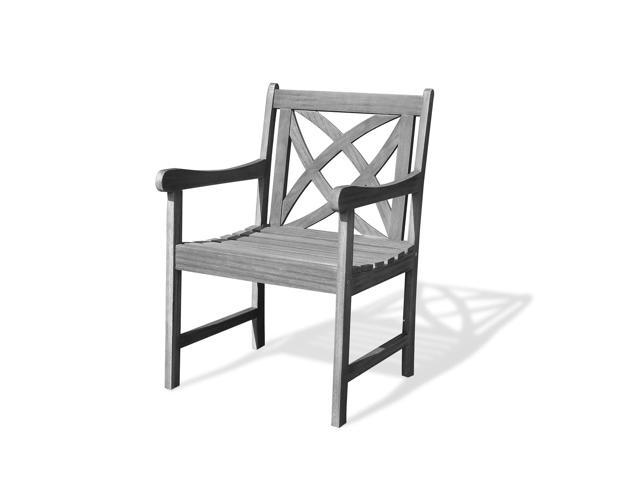 Astonishing Vifah Renaissance Eco Friendly Outdoor Garden Arm Chair Newegg Com Ocoug Best Dining Table And Chair Ideas Images Ocougorg