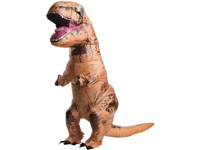 Jurassic World: Adult Inflatable T-Rex Costume - One-Size - Newegg.com