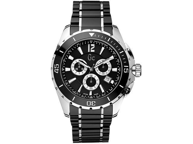 6d4b73a72c8 GUESS Gc Swiss Chronograph Sport Class XXL Black Ceramic Mens Watch  G76002G2 - Newegg.com
