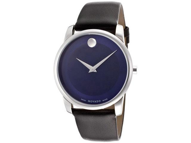 Movado Museum Blue Dial Stainless Steel Mens Watch 0606610 Newegg Ca