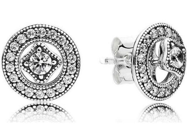 689605298e245 Pandora 290721CZ Vintage Allure Stud Earrings - Newegg.ca