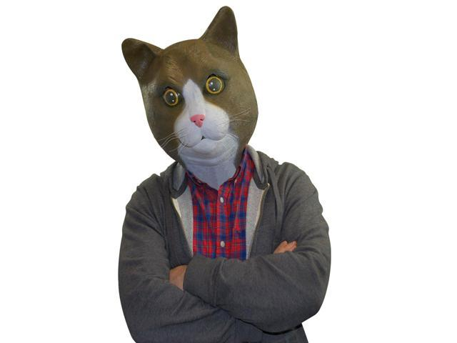 Buster Brown The Cat Latex Costume Mask