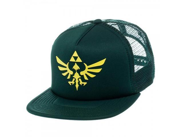 dbcd7f15 Legend of Zelda Green Triforce Logo Trucker Hat - Newegg.com