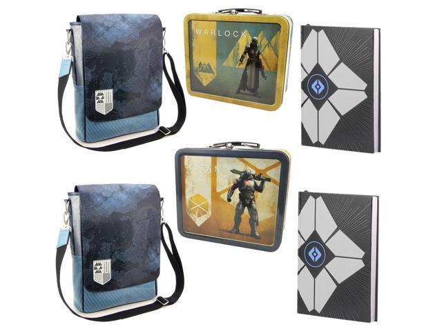 Destiny Guardian An Gift Set Journal Messenger Bag Tin Lunch Box Newegg