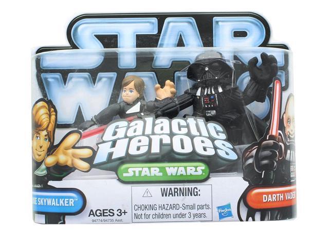 STAR WARS GALACTIC HEROES 2009 DARTH VADER SET AGES 3+