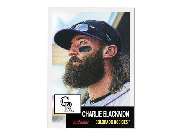 Colorado Rockies #31 Charlie Blackmon MLB Topps Living Set Card - Newegg com