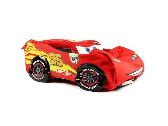 dd0e3af2fe01 Disney Pixar Cars 2 Rolling Lightning McQueen Luggage Suitcase - Newegg.com