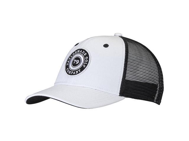 2017 TaylorMade Life Style Trucker Golf Cap White Black One Size Fits All  NEW ae84ee092d48