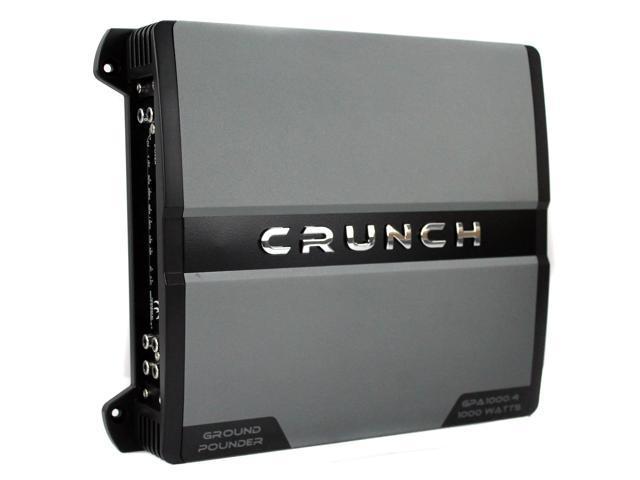 NEW Crunch GPA1000 4 1000 Watt 4 Channel Amp A/B Class Car Audio Power  Amplifier - Newegg com
