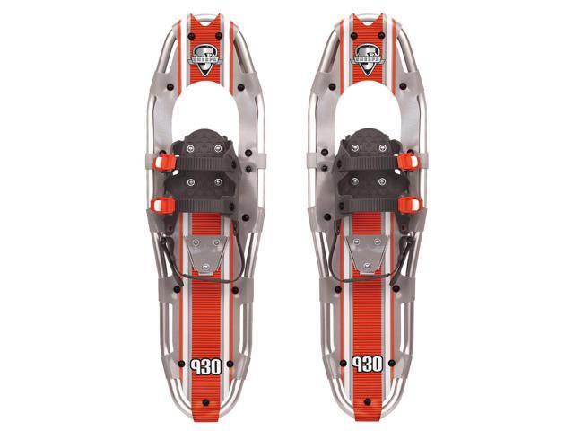 Yukon Charlie's Sherpa Series Snowshoe - up to 250lbs - Silver/Orange -  Newegg com