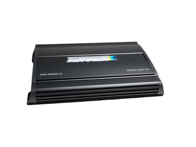 Autotek MM2520 2 Mean Machine 2500-Watt 2-Channel Bridgeable Amp -  Newegg com