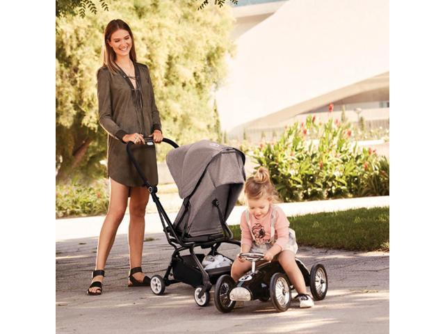 Cybex Eezy S Twist Pram Pushchair Travel Buggy Baby Stroller Manhattan Grey Newegg Com