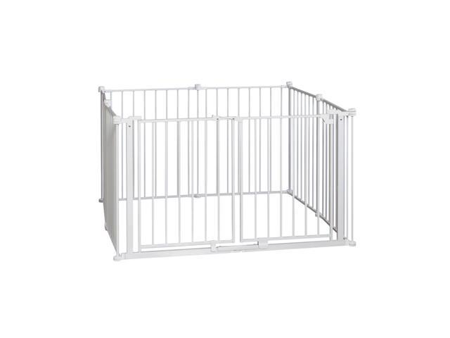 """Eight 24/"""" Panels White Regalo 192-Inch Super Wide Gate and Play Yard"""