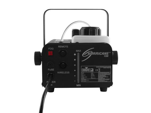 CHAUVET DJ Hurricane 1200 1 0L Fog Machine + 48 Inch UV Black Light + Fog  Juice - Newegg com