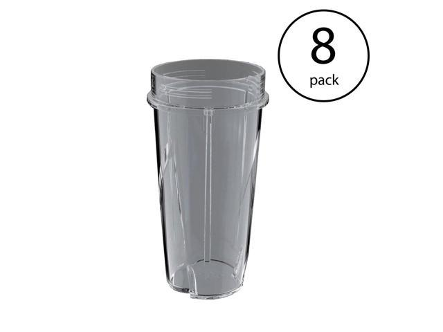 Ninja 16 Ounce Nutri Ninja Kitchen System Pulse Blender Cup w/o Lid (8  Pack) - Newegg.com