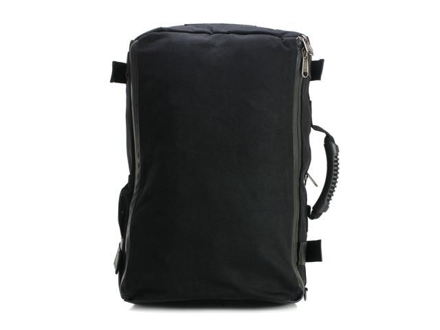 4e288bb55cfa SOVRN Republic Canvas Premium Duffle Bag Backpack 32L SOVRN HD Drifter,  Black - Newegg.com