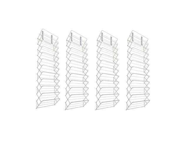Origami Over The Door 36 Pair Steel Shoe Rack Closet Storage