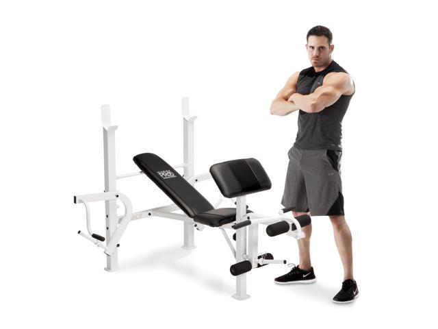 Marcy Diamond Elite Classic Multipurpose Home Gym Workout Lifting Weight  Bench - Newegg com
