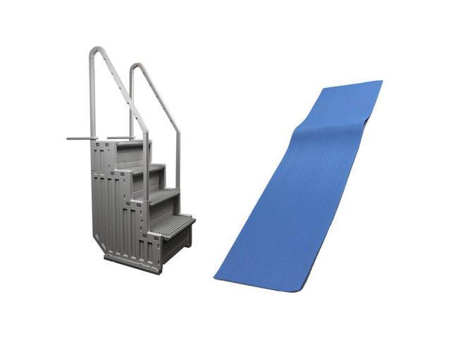 Confer STEP-1 Above Ground Swimming Pool Ladder & Swimline 9x36\