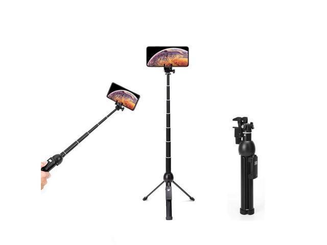 7f73b22ba102ac Wevon Selfie Stick Tripod, 45 inch Extendable Selfie Stick with Tripod,  Phone Tripod with Wireless Remote Shutter Compatible with iPhone Xs Max Xr X  8 ...