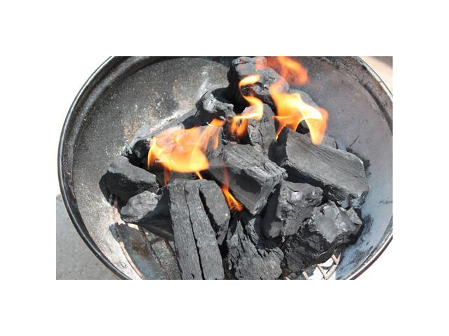 20 Pounds Jealous Devil 100 Percent Natural Hardwood Wood Lump Grill Charcoal