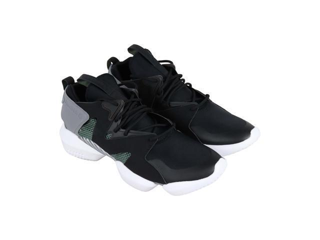 7a55fbc6d93 Reebok 3D Op. Lite Black Chalk Green Grey Mens Athletic Training Shoes