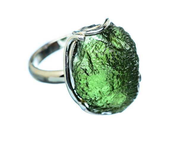 Ana Silver Co Czech Moldavite Ring Size 7 Adjustable (925 Sterling Silver)  - Handmade Jewelry RING946144 - Newegg com