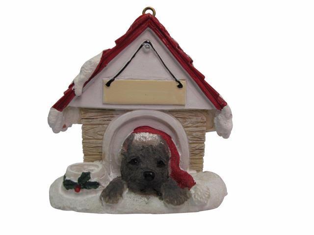 E/&S Pets 35355-22 Chocolate Labrador Doghouse Ornament