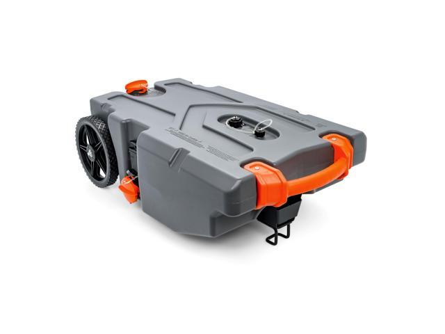 Camco Rhino Portable 36 Gallon Rv Waste Tank Holding Hose Accessories Newegg Com