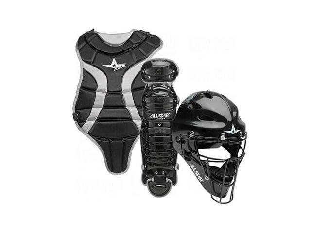 All Star Sports Youth League Catchers Gear Set Black