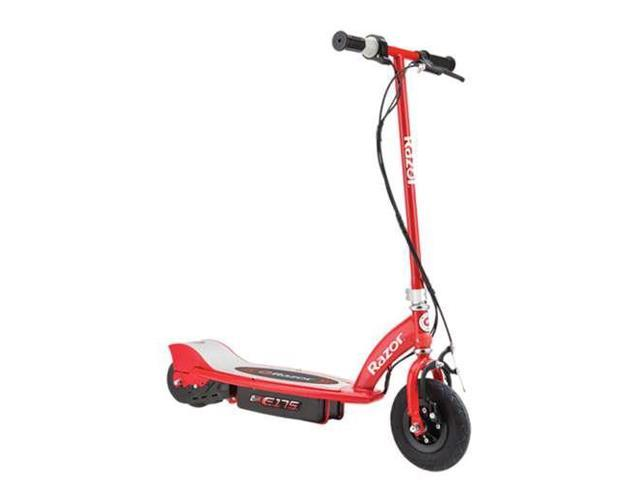 Razor E175 Motorized 24V Rechargeable Electric Power Kids Scooter, Red -  Newegg com