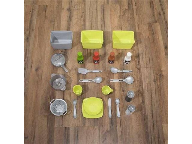 Step2 Downtown Delights Pretend Play Toy Kitchen Set