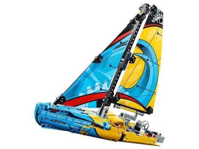 LEGO Technic Advanced Racing Yacht Sail Boat 330 Piece Building Kit -  Newegg com